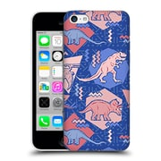 Official Chobopop Dinosaurs 90'S Dino Serenity Rose Quartz Hard Back Case For Apple Iphone 5C