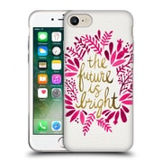 Official Cat Coquillette Quotes Typography 1 Future Is Bright Pink Soft Gel Case For Apple Iphone 7