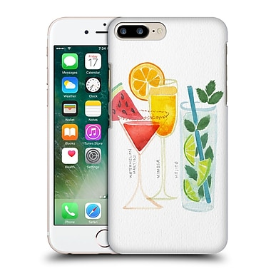 Official Cat Coquillette Mixed Drinks 3 Summer Drinks Hard Back Case For Apple Iphone 7 Plus