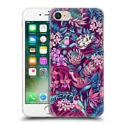 Official Celandine Tropical Pattern Stand Out Ultraviolet Hard Back Case For Apple Iphone 7
