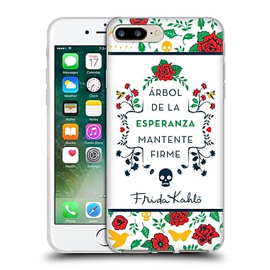 Official Frida Kahlo Icons Typography Soft Gel Case For Apple Iphone 7 Plus