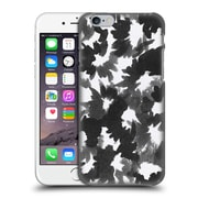 Official Caitlin Workman Black And White Watercolour Floral Hard Back Case For Apple Iphone 6 / 6S