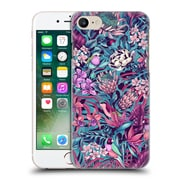 Official Celandine Tropical Pattern Stand Out Electric Blue Hard Back Case For Apple Iphone 7