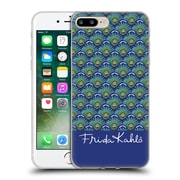 Official Frida Kahlo Peacock Feather Pattern Soft Gel Case For Apple Iphone 7 Plus