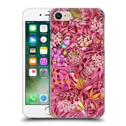 Official Celandine Tropical Pattern Stand Out Calmer Red Hard Back Case For Apple Iphone 7