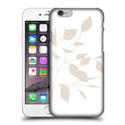 Official Caitlin Workman Organic Spring Leaf Tan White Reversed Hard Back Case For Apple Iphone 6 / 6S