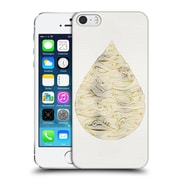 Official Cat Coquillette Watercolour Illustrations 2 Gold Water Drop Hard Back Case For Apple Iphone 5 / 5S / Se