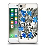 Official Cat Coquillette Quotes Typography 4 Killin' It Blue Soft Gel Case For Apple Iphone 7