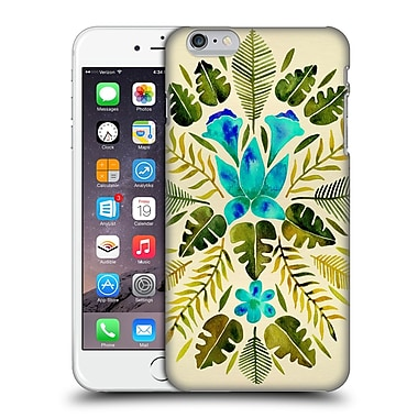 Official Cat Coquillette Nature Green Blue Tropical Symmetry Hard Back Case For Apple Iphone 6 Plus / 6S Plus