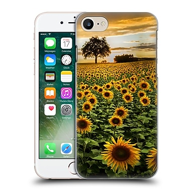 Official Celebrate Life Gallery Florals Big Sunflower Field Hard Back Case For Apple Iphone 7