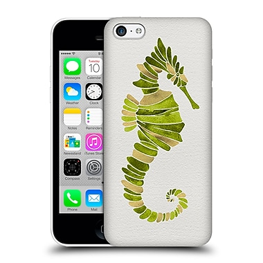 Official Cat Coquillette Sea Seahorse Green Hard Back Case For Apple Iphone 5C