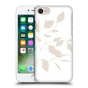 Official Caitlin Workman Organic Spring Leaf Tan White Reversed Hard Back Case For Apple Iphone 7