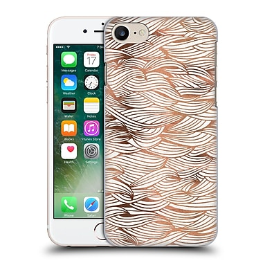 Official Cat Coquillette Patterns 2 Rose Gold Waves Hard Back Case For Apple Iphone 7