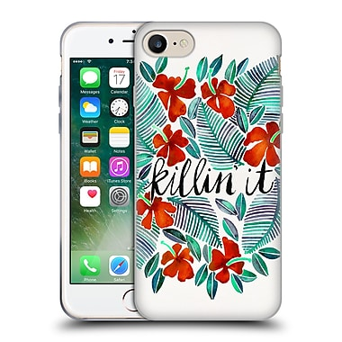 Official Cat Coquillette Quotes Typography 4 Killin' It Red Soft Gel Case For Apple Iphone 7