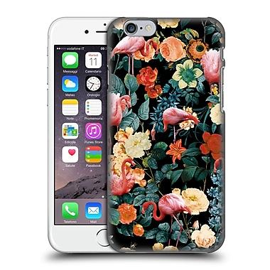 Official Burcu Korkmazyurek Tropical Floral And Flamingo Ii Hard Back Case For Apple Iphone 6 / 6S