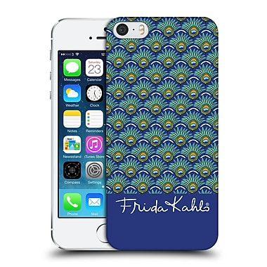 Official Frida Kahlo Peacock Feather Pattern Hard Back Case For Apple Iphone 5 / 5S / Se