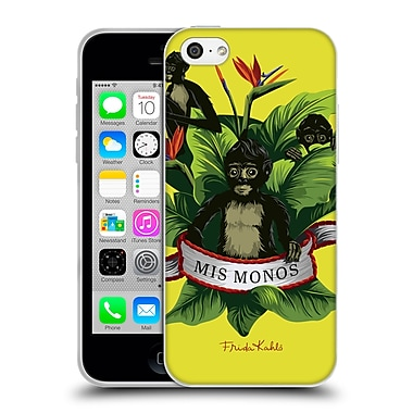 Official Frida Kahlo Tropical Monkeys Soft Gel Case For Apple Iphone 5C