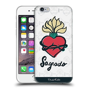 Official Frida Kahlo Doodle Sacred Soft Gel Case For Apple Iphone 6 / 6S