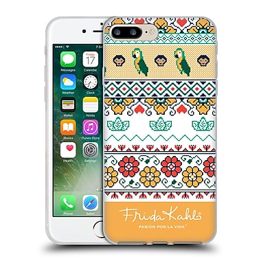 Official Frida Kahlo Coyoacan Patterns Tropical Soft Gel Case For Apple Iphone 7 Plus