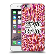 Official Cat Coquillette Quotes Typography 2 Creme De La Creme Pink Soft Gel Case For Apple Iphone 6 / 6S