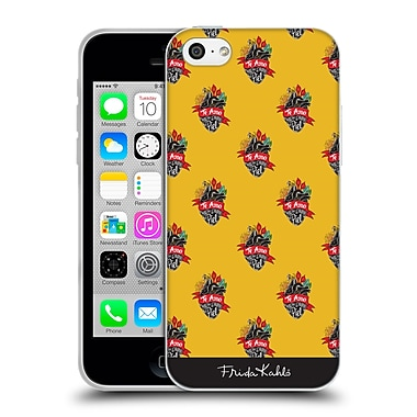 Official Frida Kahlo Typography Heart Pattern Soft Gel Case For Apple Iphone 5C