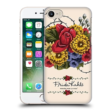 Official Frida Kahlo Red Florals Vine Hard Back Case For Apple Iphone 7