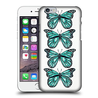 Official Cat Coquillette Insects Turquoise Butterfly Hard Back Case For Apple Iphone 6 / 6S