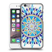 Official Cat Coquillette Mandala Blue Gold Hard Back Case For Apple Iphone 6 / 6S