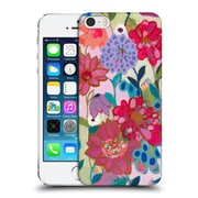 Official Carrie Schmitt Florals Adventures On The Garden Patch Hard Back Case For Apple Iphone 5 / 5S / Se