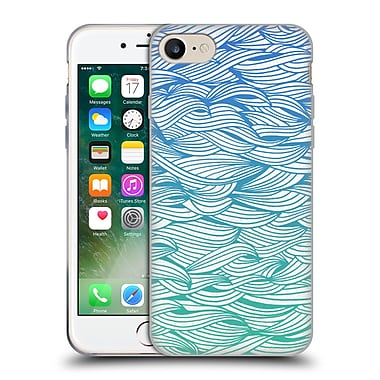 Official Cat Coquillette Patterns 2 Ombre Waves Soft Gel Case For Apple Iphone 7