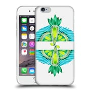 Official Cat Coquillette Birds Parrot Blue Green Soft Gel Case For Apple Iphone 6 / 6S