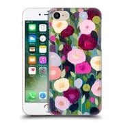 Official Carrie Schmitt Florals Night Garden Hard Back Case For Apple Iphone 7