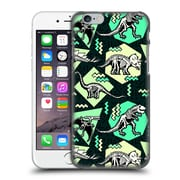 Official Chobopop Dinosaurs Neon Skeletons Hard Back Case For Apple Iphone 6 / 6S