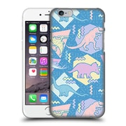 Official Chobopop Dinosaurs 90'S Pastel Hard Back Case For Apple Iphone 6 / 6S