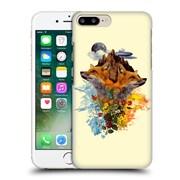 Official Burcu Korkmazyurek Animals Fox Hard Back Case For Apple Iphone 7 Plus