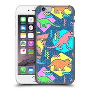 Official Chobopop Dinosaurs 90'S Pattern Hard Back Case For Apple Iphone 6 / 6S