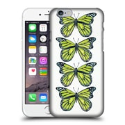 Official Cat Coquillette Insects Lime Butterfly Hard Back Case For Apple Iphone 6 / 6S