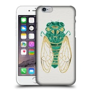 Official Cat Coquillette Insects Cicada Gold Green Hard Back Case For Apple Iphone 6 / 6S