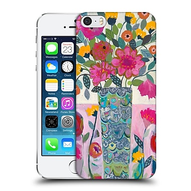 Official Carrie Schmitt Florals Amazing Vase Hard Back Case For Apple Iphone 5 / 5S / Se