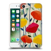 Official Carrie Schmitt Florals Cheerful Poppies Hard Back Case For Apple Iphone 7