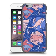 Official Chobopop Dinosaurs 90'S Dino Serenity Rose Quartz Hard Back Case For Apple Iphone 6 / 6S