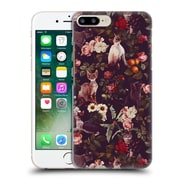 Official Burcu Korkmazyurek Animals Cat And Floral Hard Back Case For Apple Iphone 7 Plus