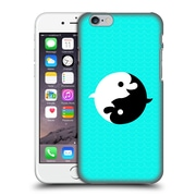 Official Chobopop Animals Yin Yang Dolphins Hard Back Case For Apple Iphone 6 / 6S