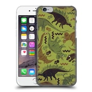 Official Chobopop Dinosaurs Camouflage Hard Back Case For Apple Iphone 6 / 6S