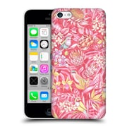 Official Celandine Tropical Pattern Stand Out Pink Pastel Hard Back Case For Apple Iphone 5C