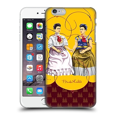 Official Frida Kahlo Self-Portraits Pattern Mix Red Hard Back Case For Apple Iphone 6 Plus / 6S Plus