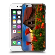 Official Celebrate Life Gallery Landscape Barn In Poppies Hard Back Case For Apple Iphone 6 / 6S