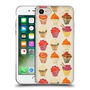 Official Cat Coquillette Sweets Cupcakes Soft Gel Case For Apple Iphone 7