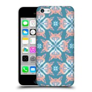 Official Chobopop Animals Pastel Fox Pattern Hard Back Case For Apple Iphone 5C