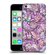 Official Celandine Tropical Pattern Stand Out Pastel Hard Back Case For Apple Iphone 5C